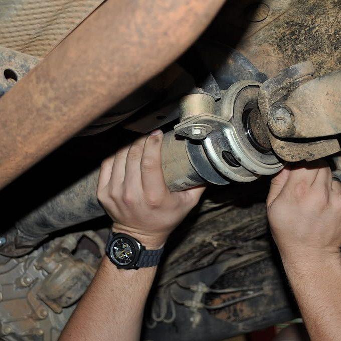 Замена карданного вала УАЗ Хантер фото-1