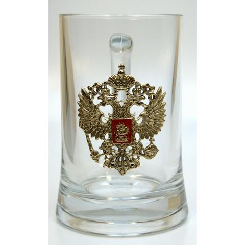 Пивная кружка «Герб РФ»
