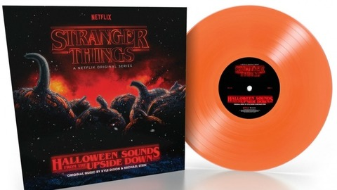 Виниловая пластинка. Stranger Things. Halloween Sounds from the Upside Down