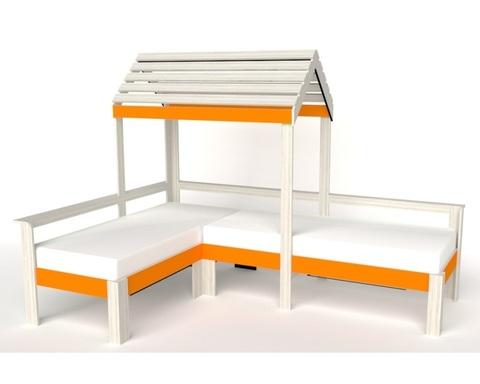 Кровать АВАРА-3 с крышей