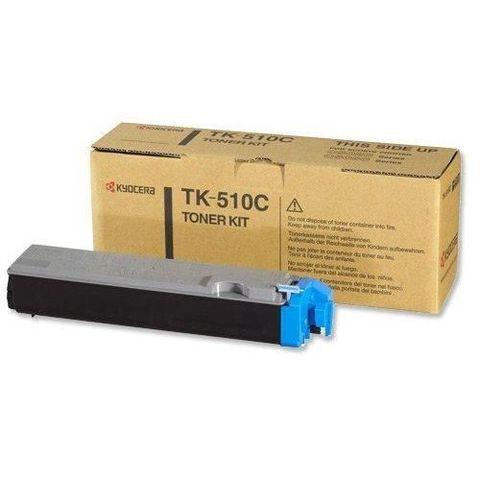 Kyocera TK-510C Тонер для FS-C5020/5025N/5030N Cyan (8 000 стр. при 5% заполнении)
