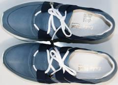 Модные спортивные туфли Ledy West 1484 115 Blue.