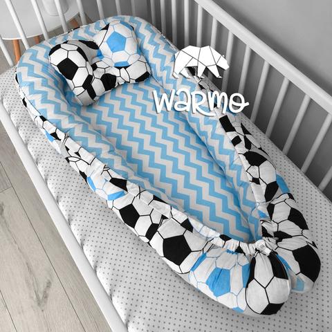 Кокон (гніздечко) для новонароджених Warmo ™ ФУТБОЛ