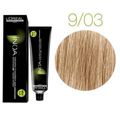 L'Oreal Professionnel INOA 9.03 (Очень светлый блондин глубокий золотистый) - Краска для волос