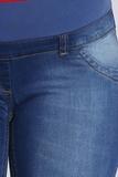 Джинсы для беременных 08589 синий
