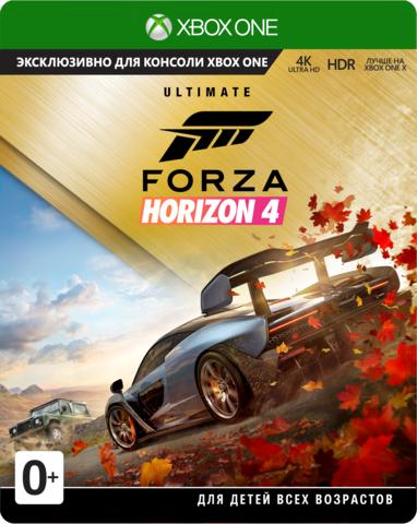 Microsoft Xbox One Forza Horizon 4. Ultimate Edition (русские субтитры)