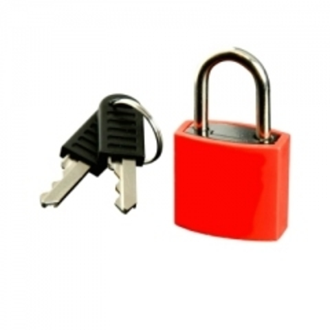 Навесной замок на ключе