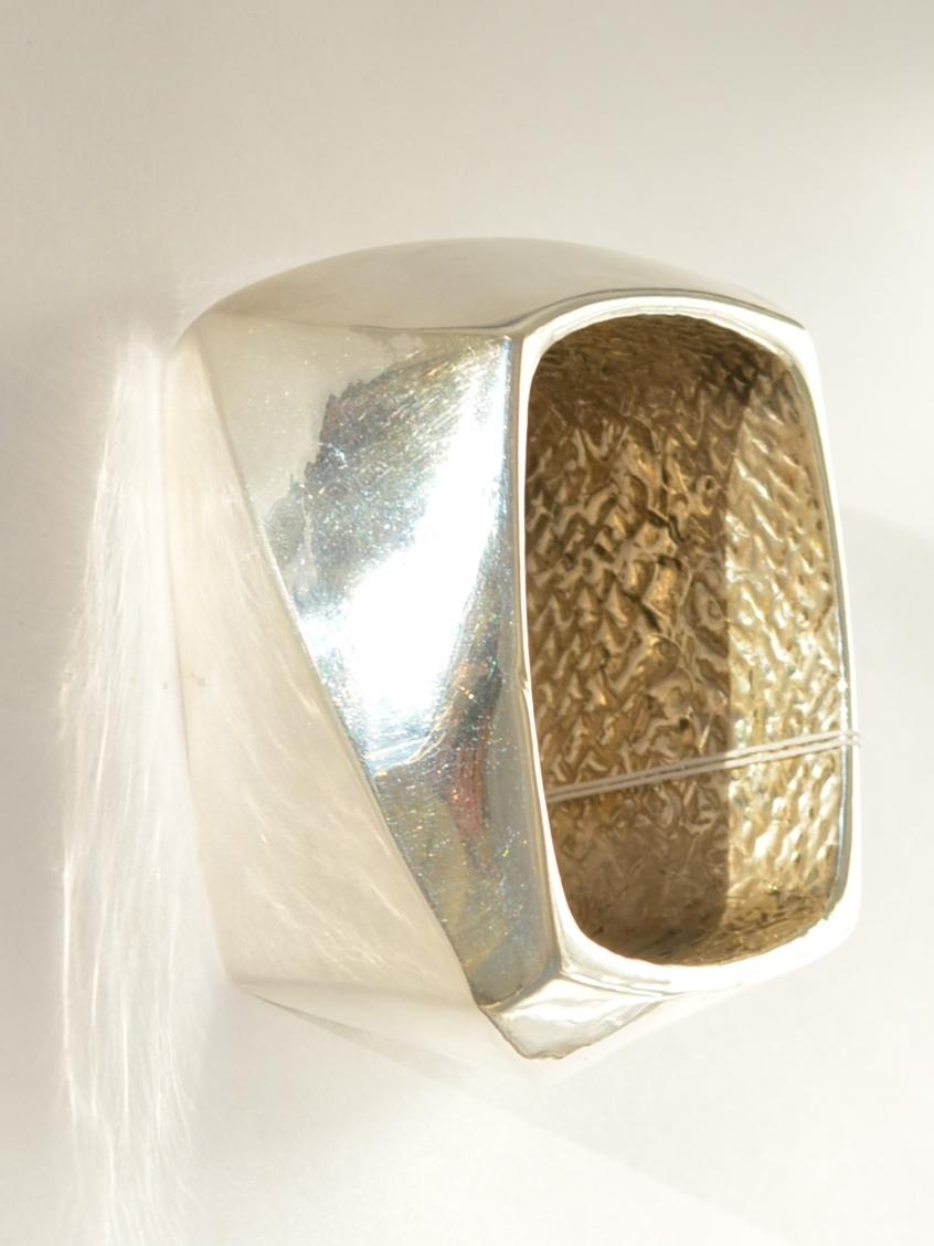 Квадрат Б (браслет из серебра)