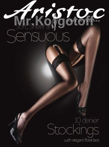 Чулки Aristoc Sensuous 10 Black