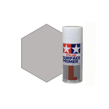 Tamiya Surface Primer Light Gray, Грунт в аэрозоли Светло-Серый, 180 мл