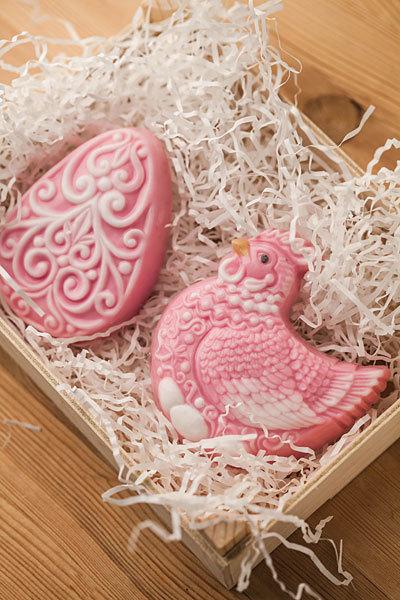 Мыло Курица и Яйцо. Пластиковая форма