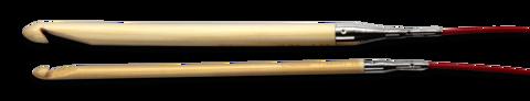 1506-F Крючок для тунисского вязания, бамбук