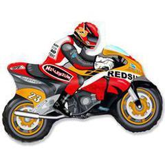 F Мини фигура Мотоцикл (оранжевый) / Motor bike (14