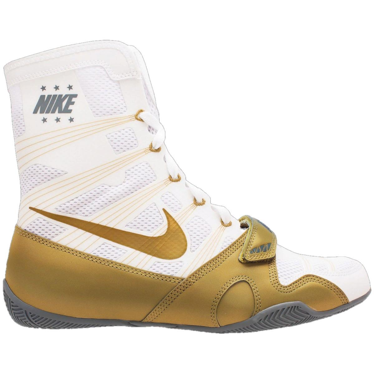 Боксерки Nike HyperKO White/metallic gold