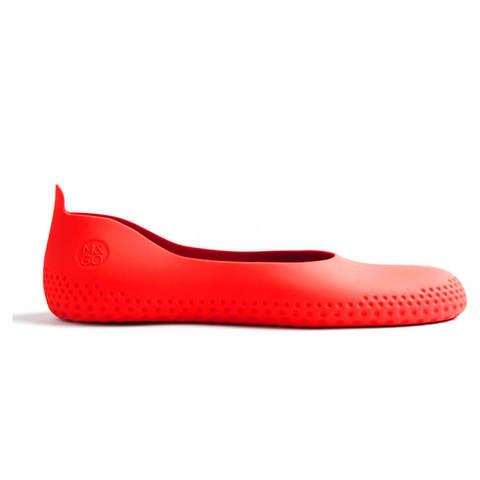 Галоши Mouillere ярко красные