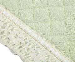 Элитный коврик для ванной Buratto зеленый от Old Florence