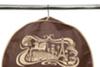 Чехол для костюма длинный 130х60х10, Париж, Горький Шоколад