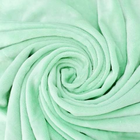 Плюш односторонний зеленый (отрез 210х160) см