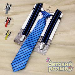 Подтяжки + галстук