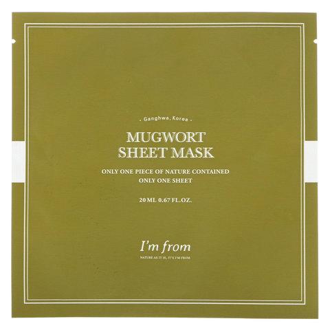 Тканевая Маска С Полынью I'M FROM Mugwort Sheet Mask