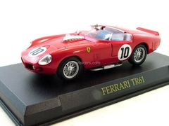 Ferrari TR61 #10 1961 red 1:43 Eaglemoss Ferrari Collection #60