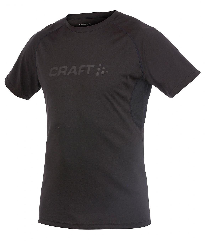 Мужская спортивная беговая футболка Craft Prime Run (1902497-9999) черная фото