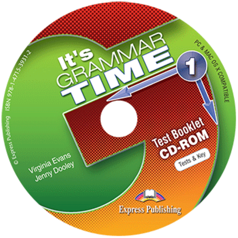 It's GRAMMAR TIME 1 Test booklet CD-ROM