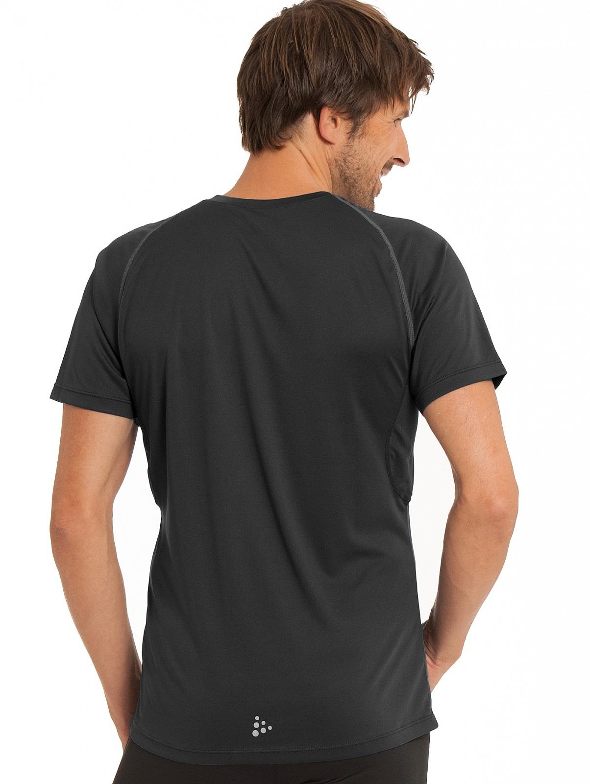Мужская беговая футболка Craft Prime Run (1902497-9999) черная фото