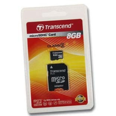 Карта памяти microSD 8 Гб