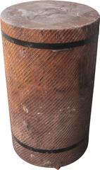 Разрубочная колода 550-650 мм на деревянных брусьях дуб