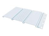 Софит тройной без перфорации FineBer Белый 0,3х3м
