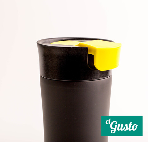 Термокружка el Gusto «Cat» черная 470 мл
