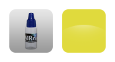 Краска для аэрографии Желтый банан 10 мл №5
