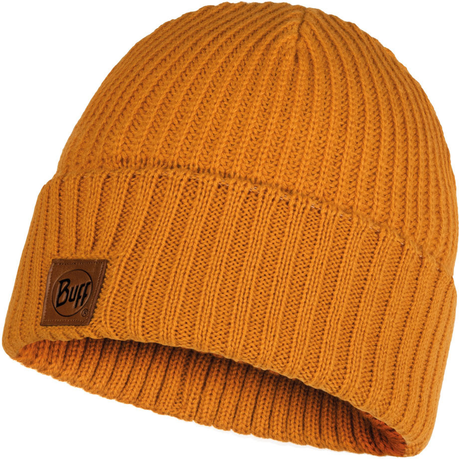 Шапки с отворотом Вязаная шапка Buff Hat Knitted Rutger Ocher 117845.105.10.00.jpg
