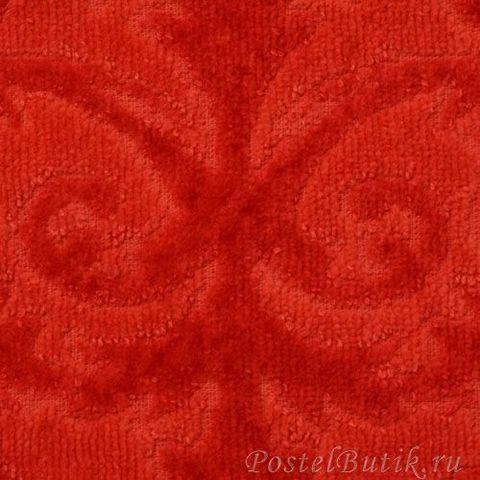 Полотенце 105x180 Abyss & Habidecor Barocco 666 persimmon red