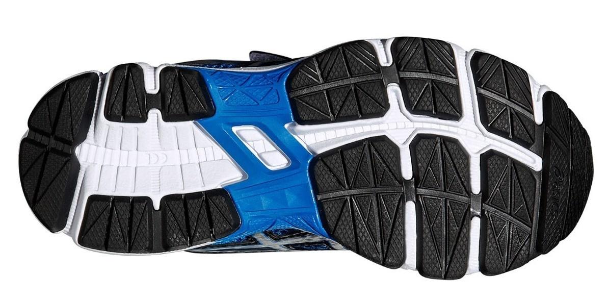 Детские беговые кроссовки Asics GT-1000 4 PS (C556N 3993) синие фото
