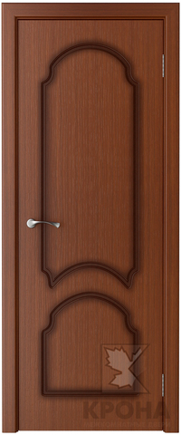 Дверь Крона Соната, цвет макоре, глухая