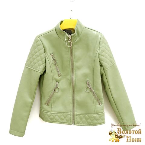Куртка экокожа девочке (5-10) 200318-W1907.2