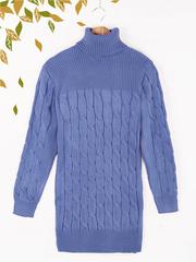 2011-8 туника женская, синяя