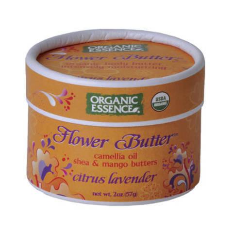 Organic Essence. Органический цветочный крем «Цитрус-Лаванда»  (57 гр)