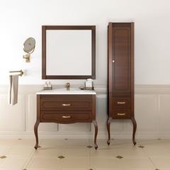 Мебель для ванной Opadiris Фреско 100 100х86,4х86,5х48,5см. с зеркалом