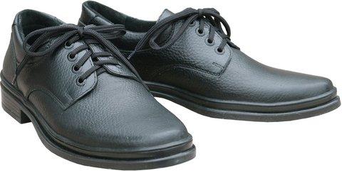Полуботинки мужские охранника (на шнурках)