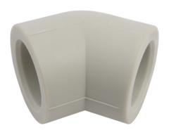 Угол равнопроходной FV Plast 25 мм. 45° полипропиленовый