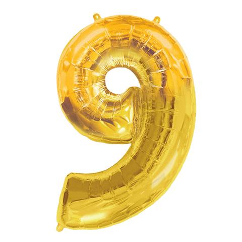 Цифры Золото 102 см