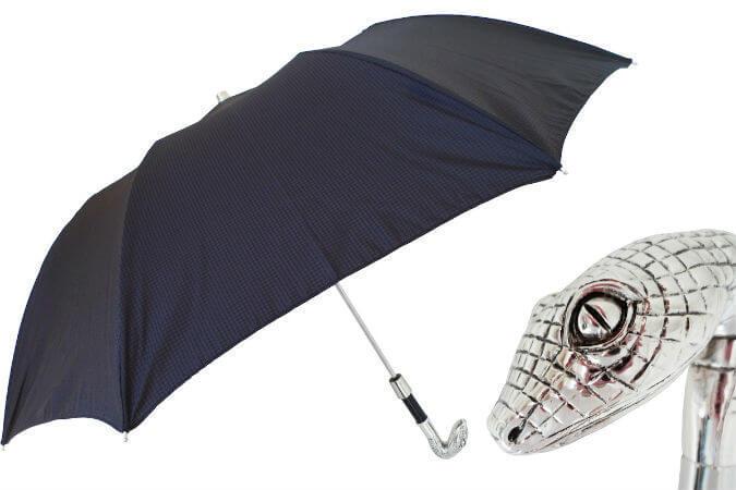 Зонт складной Pasotti-478-6768-Silver Eagle