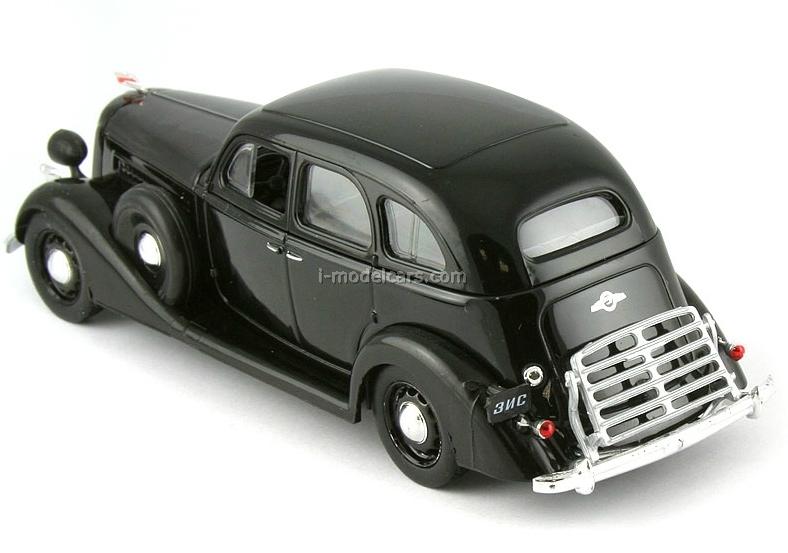 ZIS-101 black 1:43 DeAgostini Auto Legends USSR #84