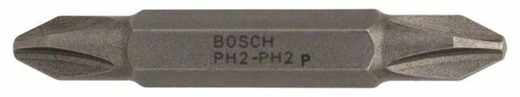Бита для шуруповёрта двусторонняя 45мм Ph2 - Ph2 Bosch 2607001740