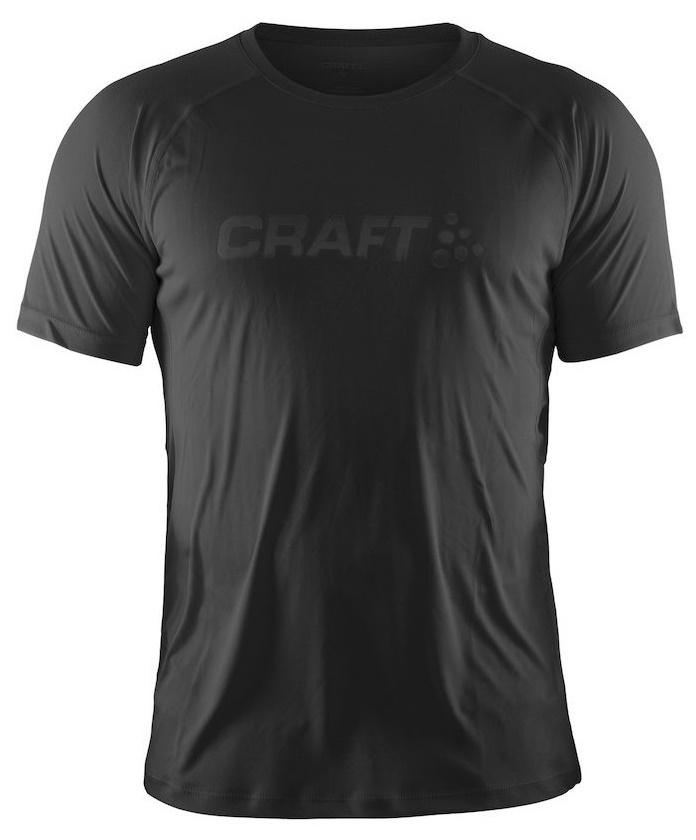 Мужская футболка для бега Craft Prime Run (1902497-9999) черная фото