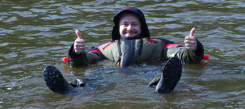 Костюм-поплавок зимний