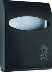 Диспенсер для туалетных накладок Nofer Black 04028 фото